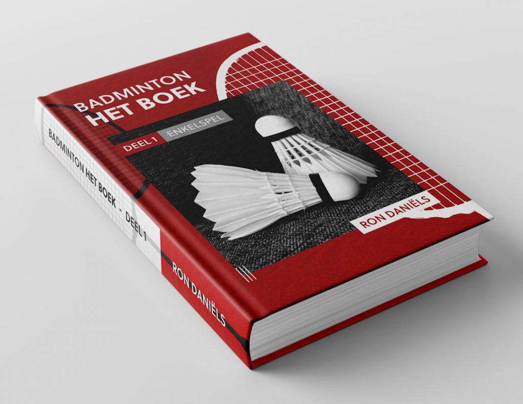 Impressie van de buitenkant van Badminton Het Boek - Deel 1: enkelspel.
